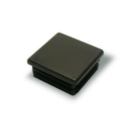 Заглушка внутренняя квадратная ZKW 25x25мм черная