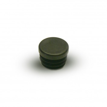 Заглушка внутренняя круглая ZWO 12мм черная