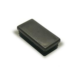 Заглушка внутренняя прямоугольная ZWP 40x20 черная