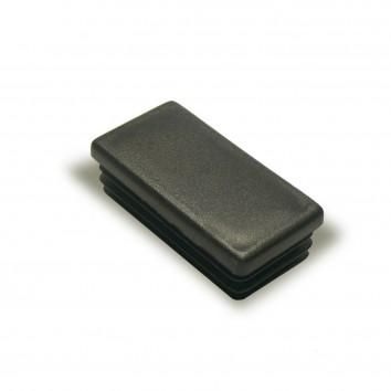Заглушка внутренняя прямоугольная ZWP 50x30 черная