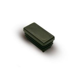 Заглушка внутренняя прямоугольная ZWP 20x10 черная
