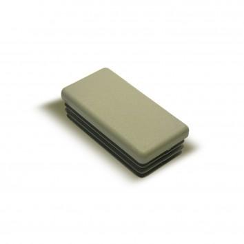 Заглушка внутренняя прямоугольная ZWP 60x30 серая